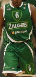 Basketball Club Žalgiris Kaunas 2007 – 2008 home kit