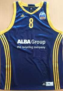 Alba Berlin 2011 – 2012 away jersey