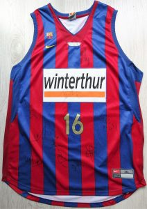 Winterthur Barcelona 2006 -07 home jersey