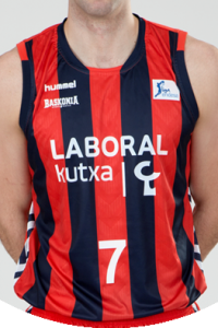 Baskonia Vitoria 2014 – 2015 home jersey