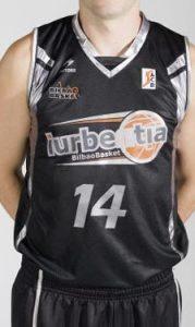 Bilbao Basket 2008 – 2009 Home jersey