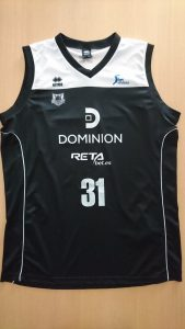 Dominion Bilbao Basket 2015 – 2016 home jersey