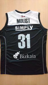 Dominion Bilbao Basket 2015 – 2016 home jersey
