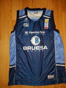 Bruesa Bilbao Basket  2017 – 2018 home jersey