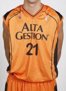 ALTA GESTIÓN Fuenlabrada 2008 – 2009 home jersey
