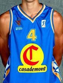 Casademont Girona 2002 – 2003 home jersey