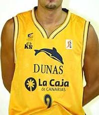 Baloncesto Dunas Gran Canaria 2006 – 2007 home jersey