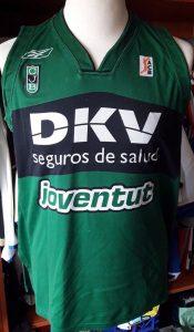 Joventut Badalona 2007 – 2008 home jersey
