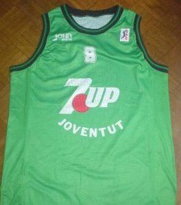 7UP Joventut Badalona 1994 – 1995 home jersey