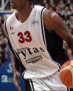 BC Lietuvos rytas 2004 – 2005 away jersey