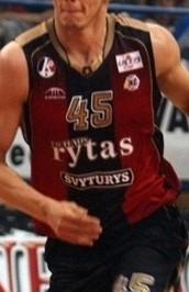 BC Lietuvos rytas  2006 – 2007 home jersey