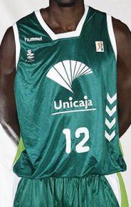 UNICAJA Malaga 2008 – 2009 home jersey