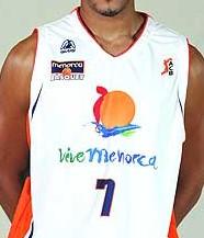 Menorca Bàsquet 2006 – 2007 home jersey