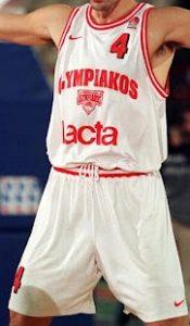 Olympiacos B.C. 1998 – 1999 away jersey