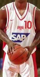 Olympiacos B.C. 2001 – 2002 away jersey