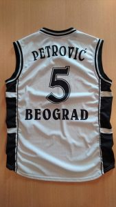 Partizan Belgrade 2001 – 2002 away kit