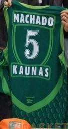 Basketball Club Žalgiris Kaunas 2006 – 2007 home jersey