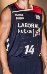 Baskonia Vitoria 2015 – 2016 home jersey