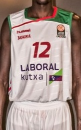 Baskonia Vitoria 2015 – 2016 away jersey