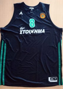 Panathinaikos B.C. 2012 – 2013 away jersey