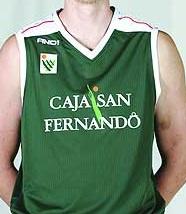 Caja San Fernando Sevilla 2006 – 2007 home jersey