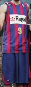 Regal Barcelona 2010-2011 home kit