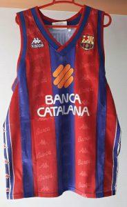 FC Barcelona 1997-1998 home jersey