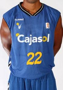 Cajasol Sevilla 2010-2011 home jersey