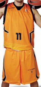 Baloncesto Fuenlabrada 2010-2011 home jersey