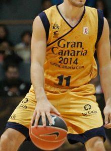 Baloncesto Gran Canaria 2010-2011 home kit