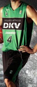 DKV Joventut Badalona 2010-2011 home jersey
