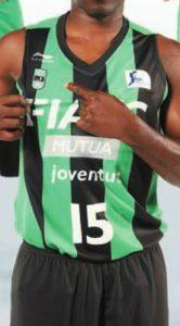 Joventut Badalona FIATC 2011-2012 home jersey