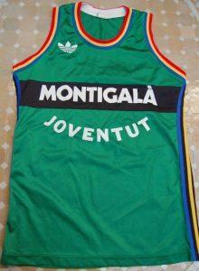 Montigalá Joventut Badalona 1990-1991 home jersey