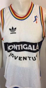 Montigala Joventut Badalona 1990-1991 away jersey