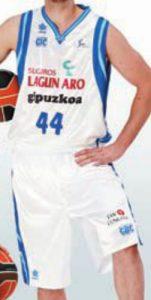 Lagun Aro Gipuzkoa Basket 2011-2012 home kit