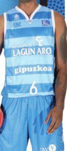 Lagun Aro Gipuzkoa Basket 2012-2013 home jersey
