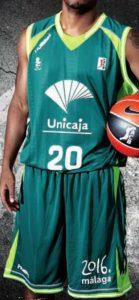 UNICAJA Malaga 2010-2011 home kit