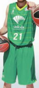 UNICAJA Malaga 2011-2012 home jersey