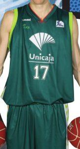 UNICAJA Malaga 2012-2013 home jersey