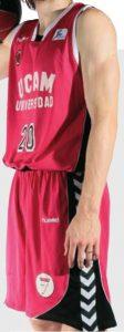 UCAM Murcia 2011-2012 home kit
