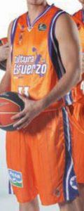 Valencia Basket 2011-2012 home kit