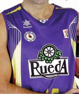Baloncesto Valladolid 2010-2011 home jersey