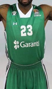 Darüşşafaka Tekfen 2016-17 home jersey