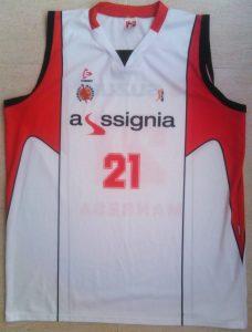 Assignia Manresa 2010-2011 away jersey