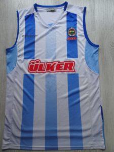 Fenerbahçe Ülker basketball 2011-12 away jersey