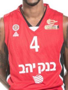 Hapoel Jerusalem 2018-19 home jersey