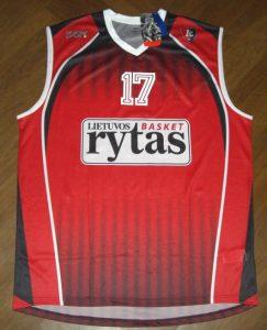 BC Lietuvos rytas 2011-12 home jersey