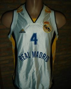 Real Madrid 1999-2000 home jersey