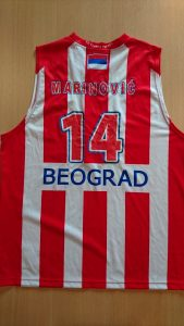Red star Belgrade 2008-2009 home jersey