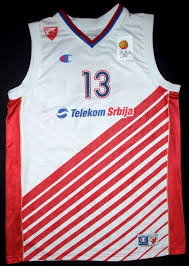 Red star Belgrade 2013-2014 home jersey